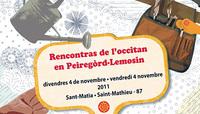 Las rencontras de l'occitan en Peiregòrd-Lemosin 2/3